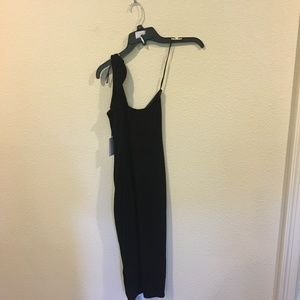 1. State Dresses - NWT 1. State black one shoulder dress